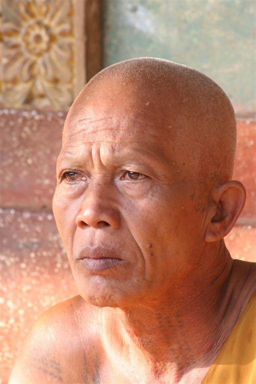 Mnich Angkor Kambodža