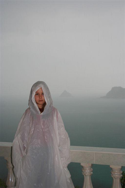 dešťová víla na Ko Tau