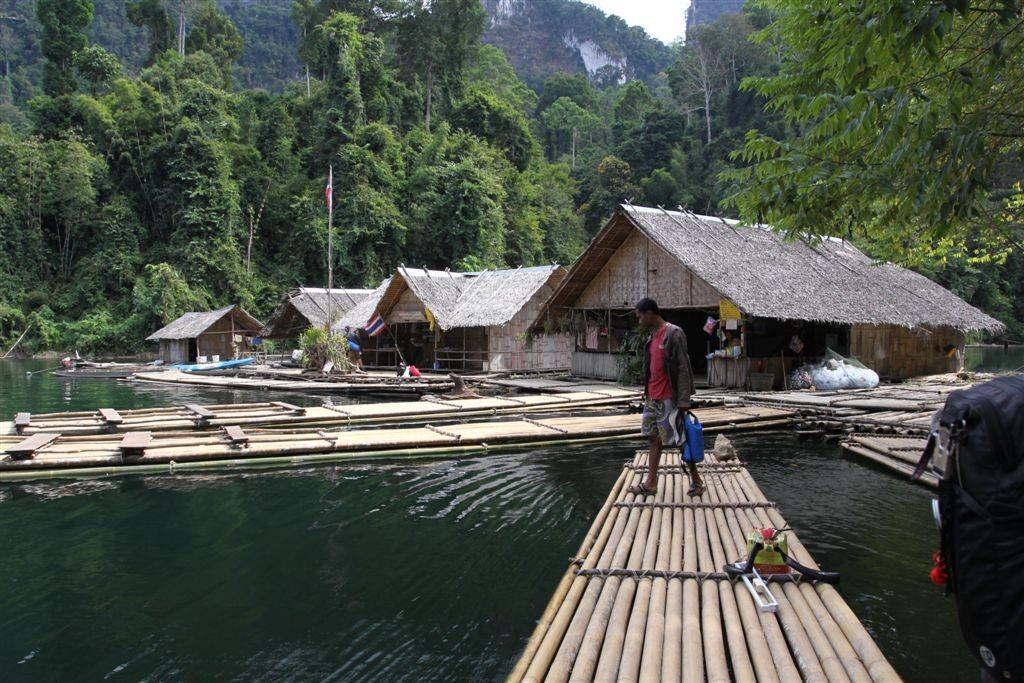 plovoucí resort Khao Sok