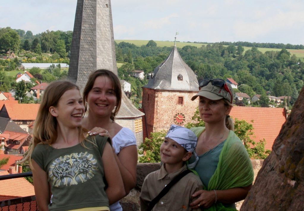 komtesy a hraběnka ze Schlitzů
