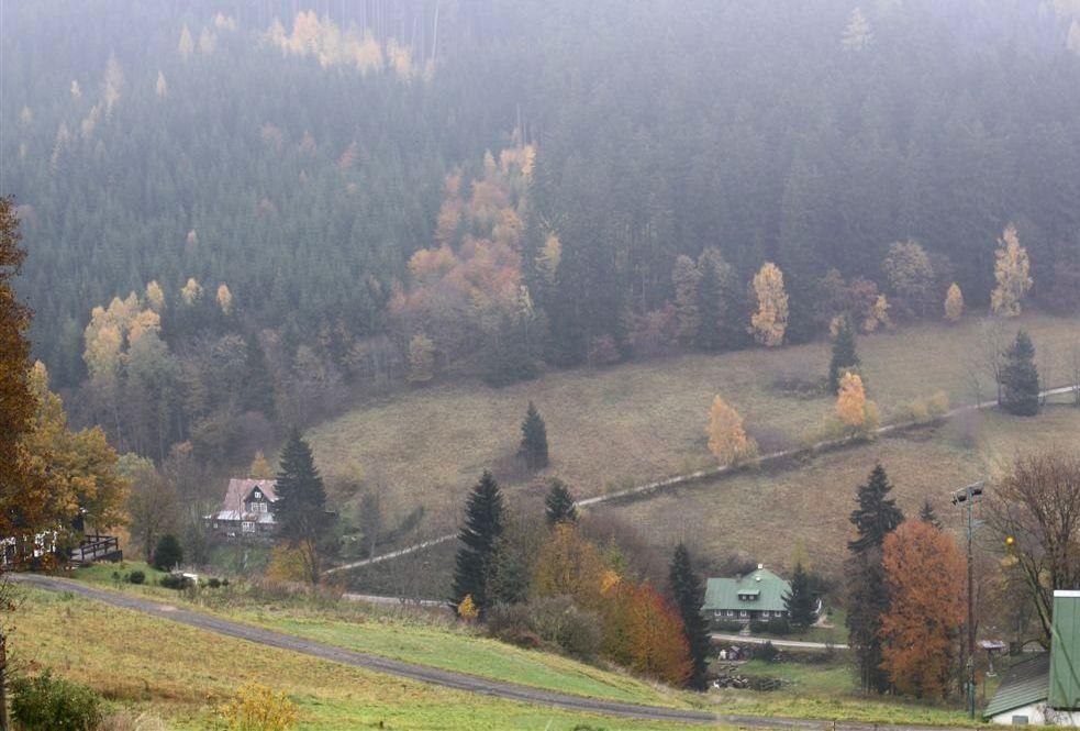 podzim ve Strážném