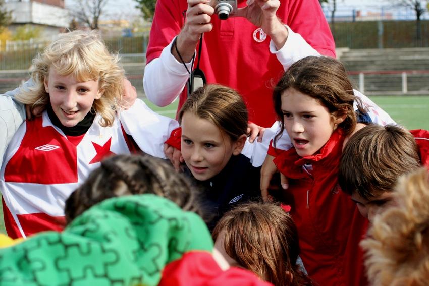 fotbal holky Slavia