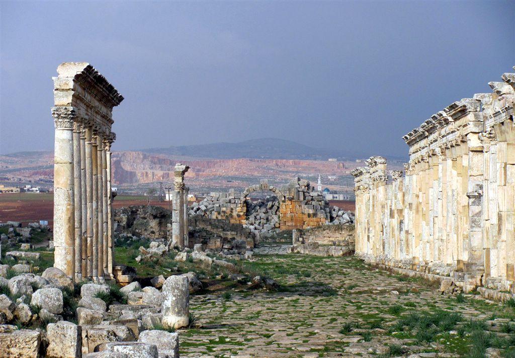 Apamea Sýrie