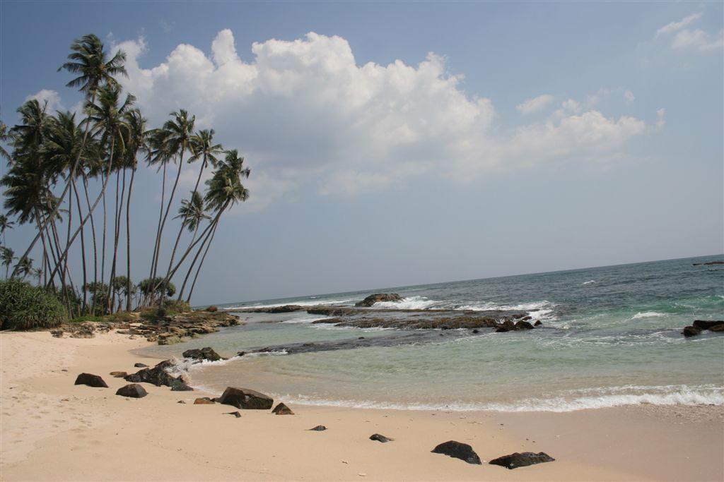 ráj surfařú Srí Lanka