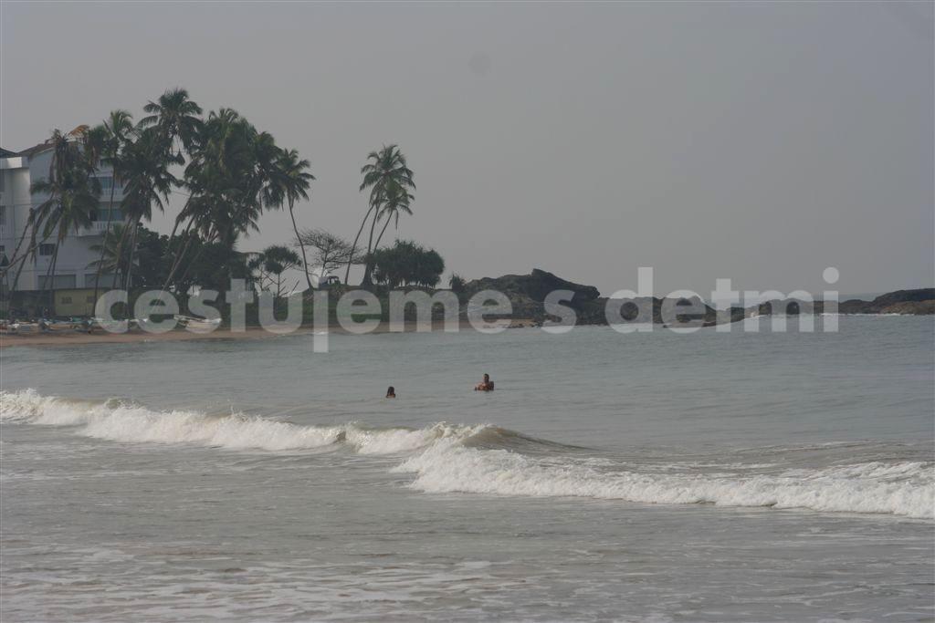 Pláže Unawatuna a Bentota, Šrí Lanka