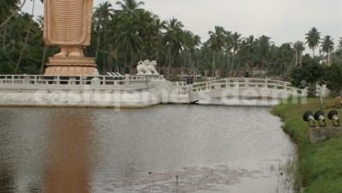 Honganji vihara - památník tsunami Šrí Lanka