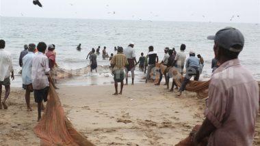 zátah rybářů