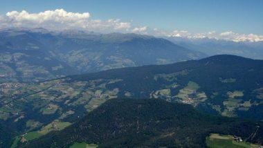 výhled z planiny Puflatsch