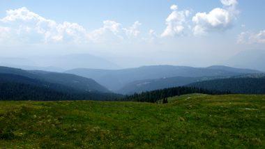 Stoanerne Mandln- pohled na okolní hory