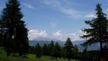 Planina Saltner - výhledy