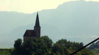 kostelík nad Bolzanem