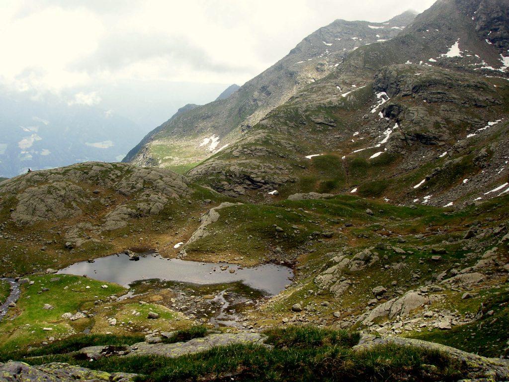 jezerní krajina