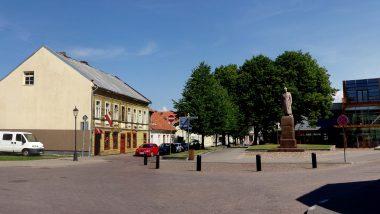 hlavní náměstí Ventspils