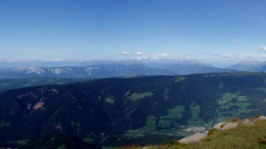 pohled na Bolzano
