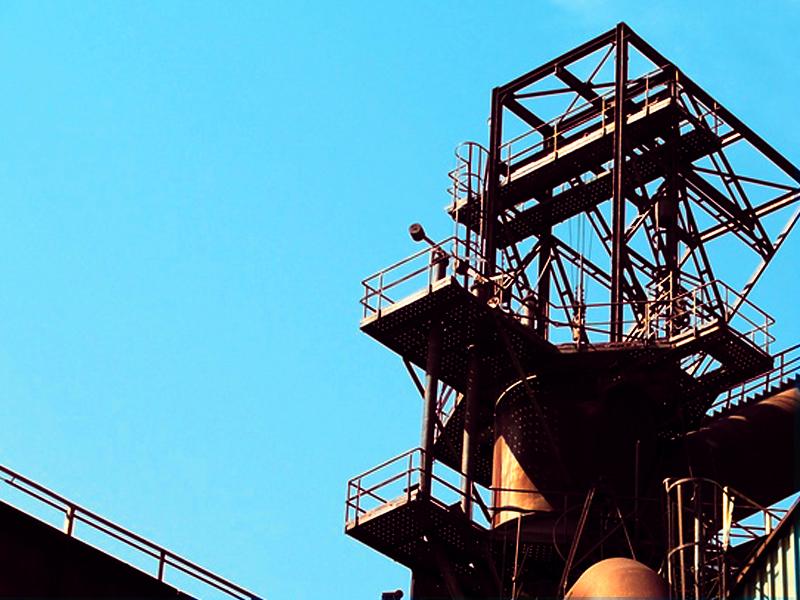industriál je v Ostravě opravdu všude