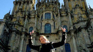 katedrála v Santiagu - čelní průčelí