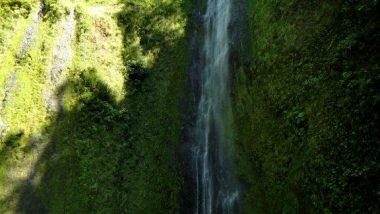 vodopády- v období sucha jen s malým průtokem