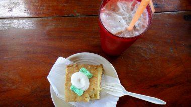 dortík a ledové kakao -pochoutka