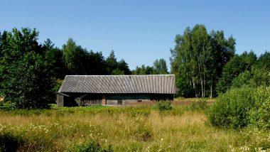 vesnické stavení