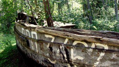hřbitov rybářských lodí