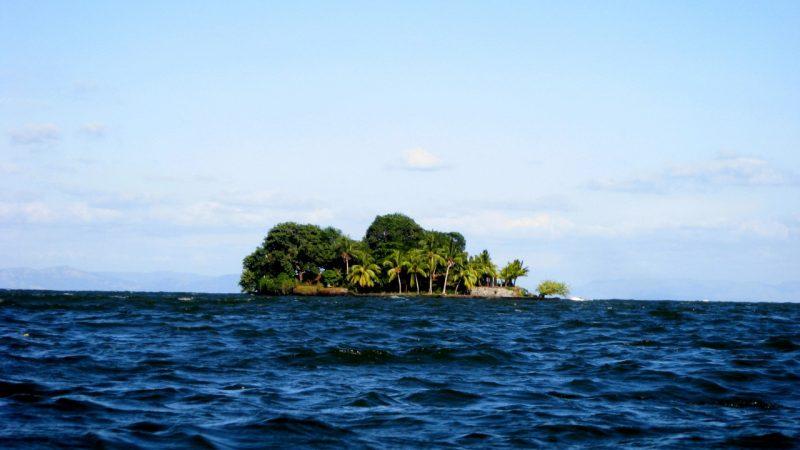 jeden z 400 ostrovů okolo Granady