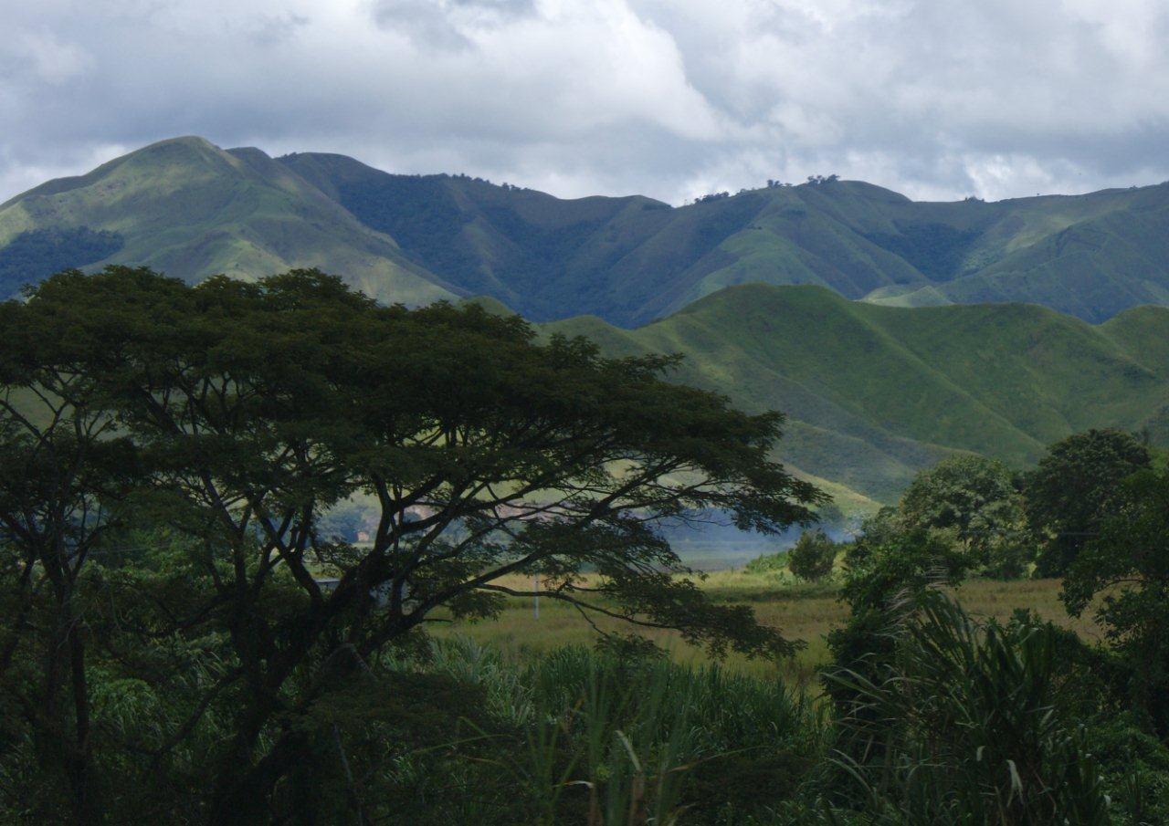 Pohoří Cordillera de Caripe