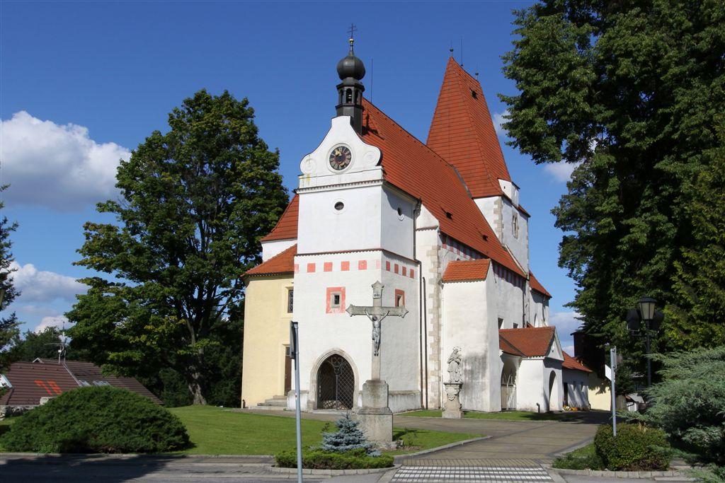 kostel sv.Mikuláše - Horní Stropnice
