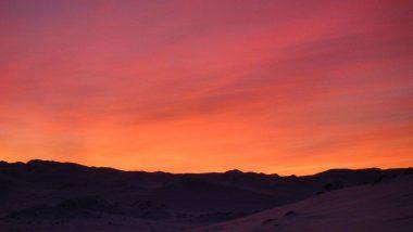 západ slunce- uchvacující- tohle není photoshop!