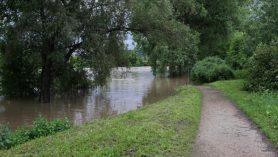 Radotín Berounka - povodeň 2013