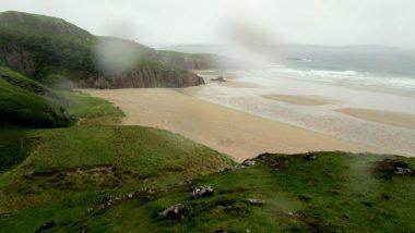 Severní pobřeží- když prší...