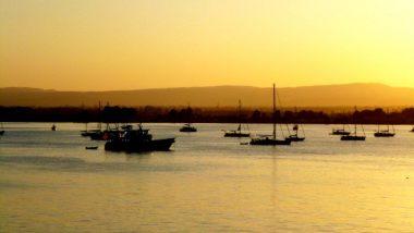 Západ slunce nad Ortigou
