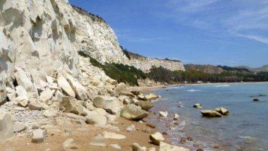 pláž u Eraclea Minoa