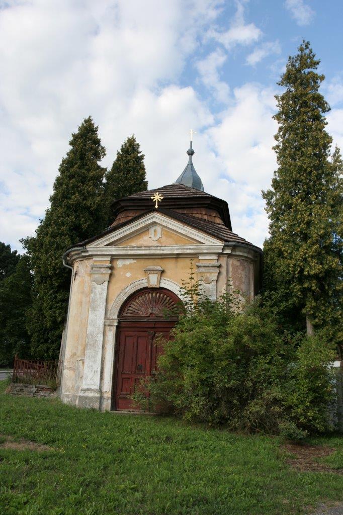 kaple Bolestné P. Marie - Olivětín