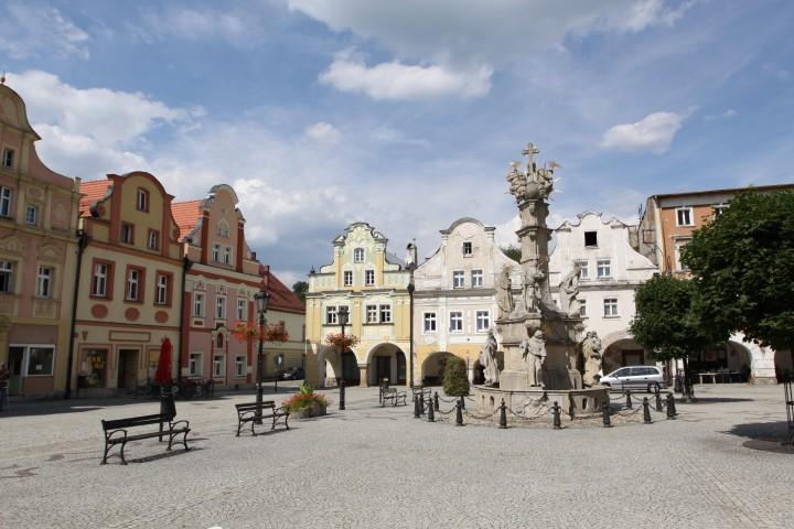 centrum města Ladek Zdrój