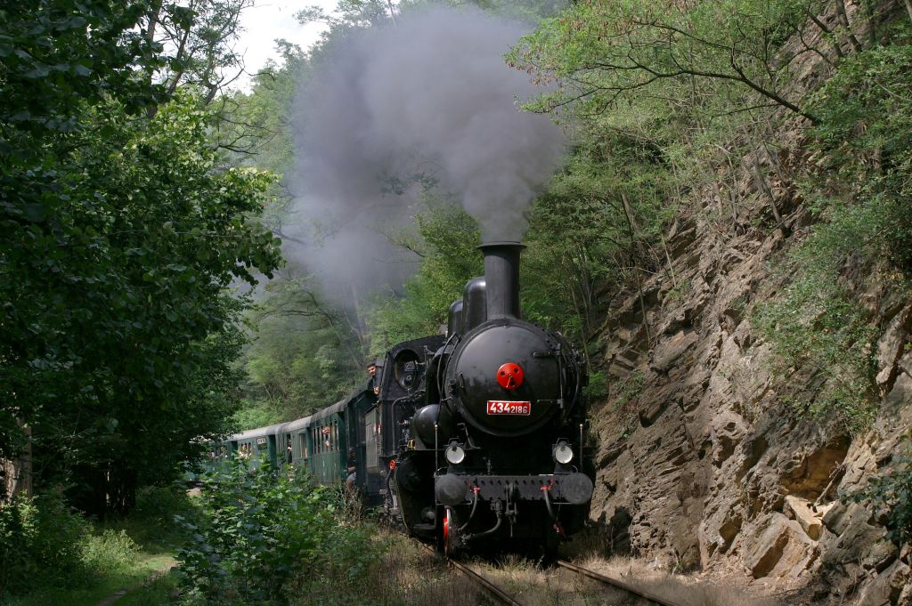 výlet parním vlakem Posázavím
