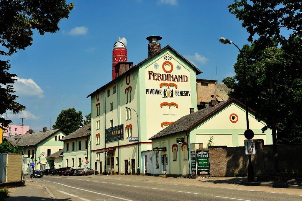 Historický pivovar Ferdinand v Benešově