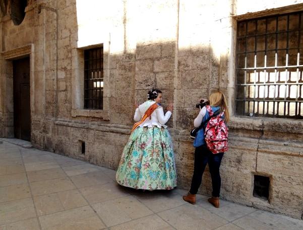 historické budovy a památky Valencie