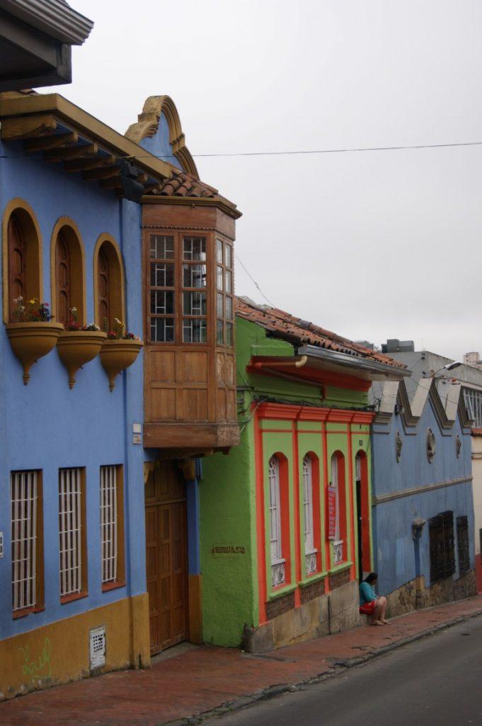 Bogota - starobyá čtvrť La Candelaria.