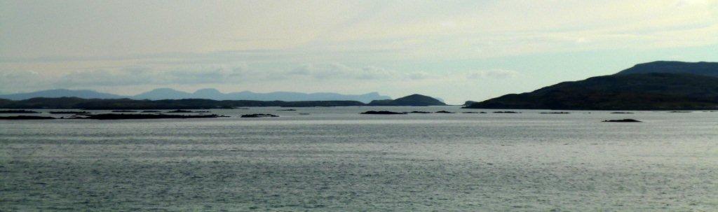 pohled na pobřeží South Harris