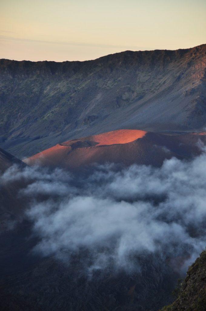 východ slunce v NP Laleakala