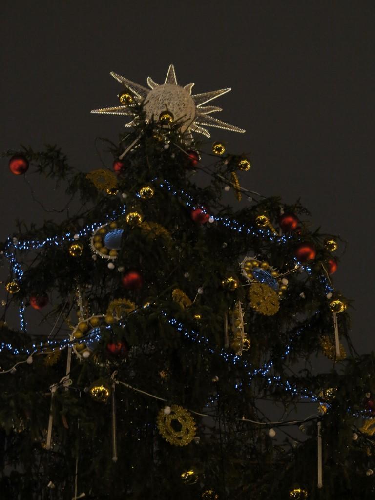 vánoční strom - Praha