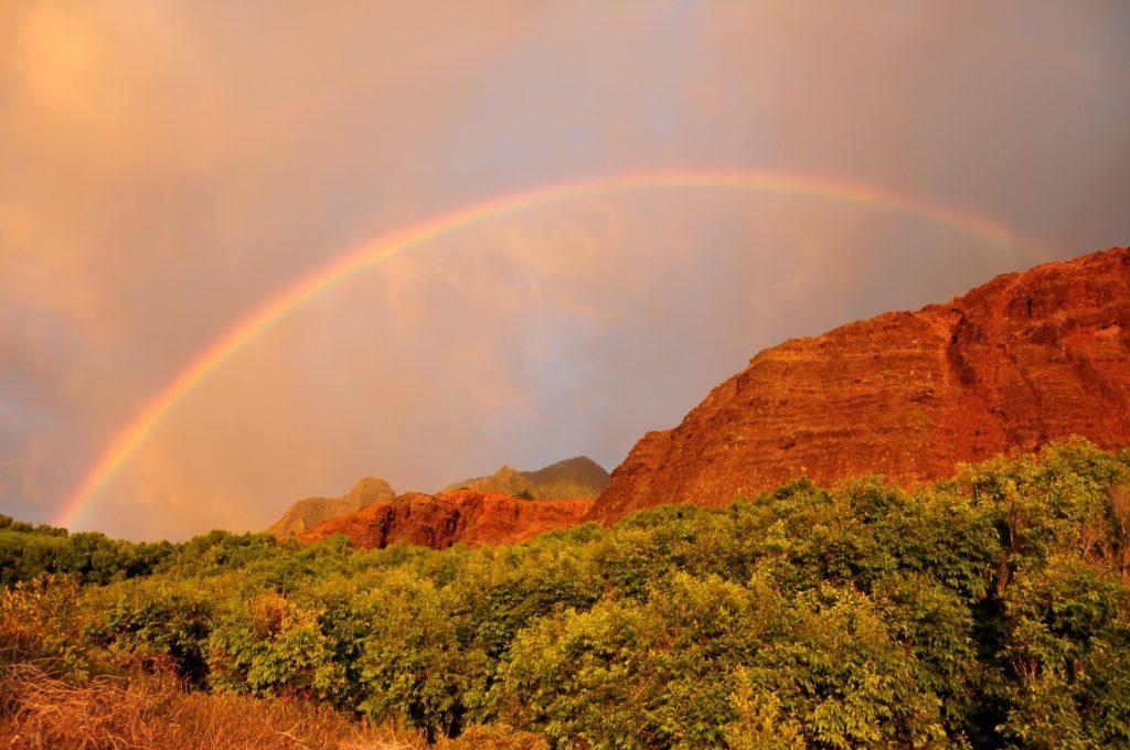 KAUAI - výhled na Kalalau - Na Pali