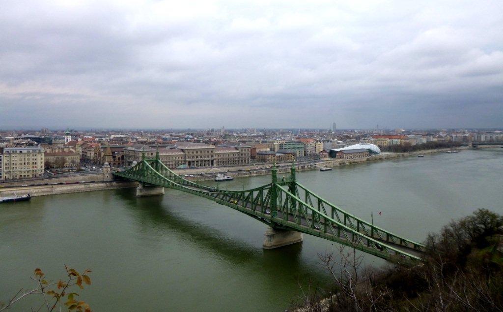 nábřeží Budapešť