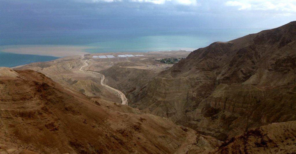 ústí řeky do Mrtvého moře