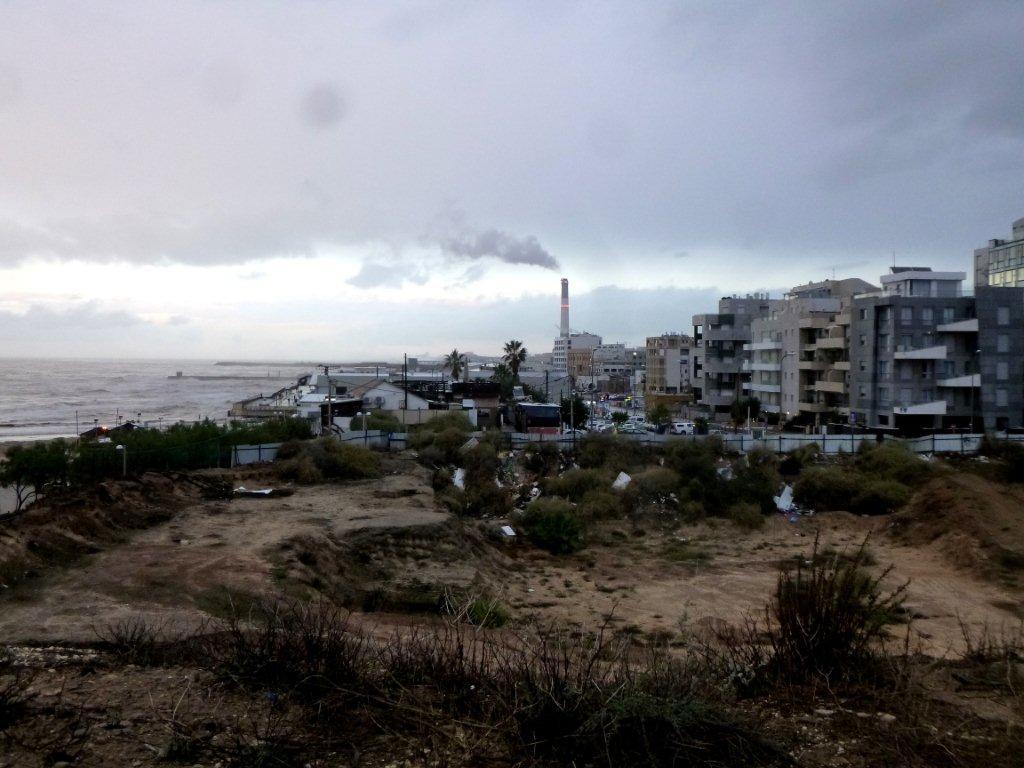 kontrast u pobřeží