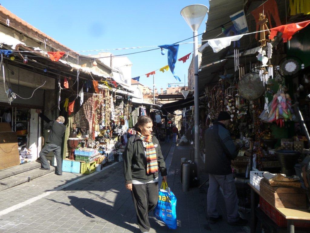 markety v Jaffě