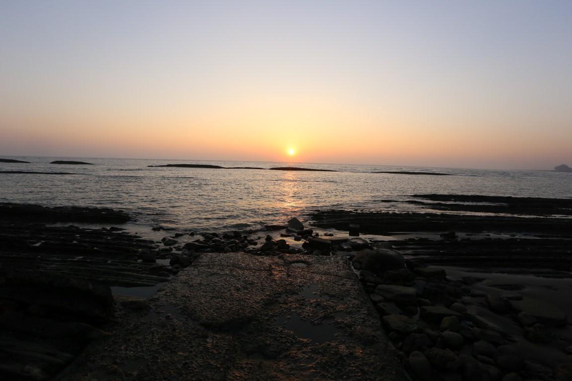 západ Slunce v Sittwe