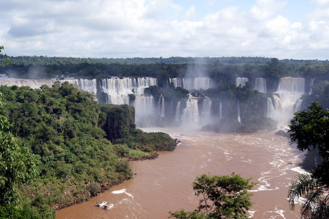 Brazílie, vodopády Iguazú