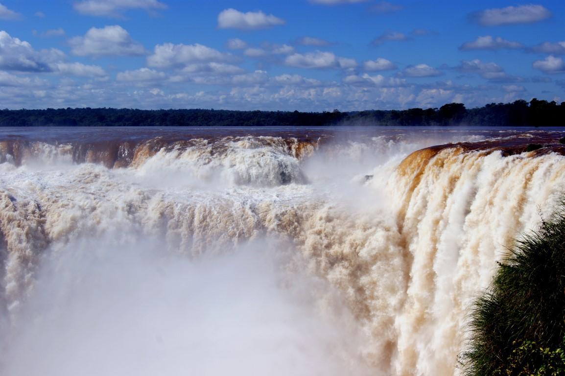 Ďáblův chřtán -  Vodopády Iguazu