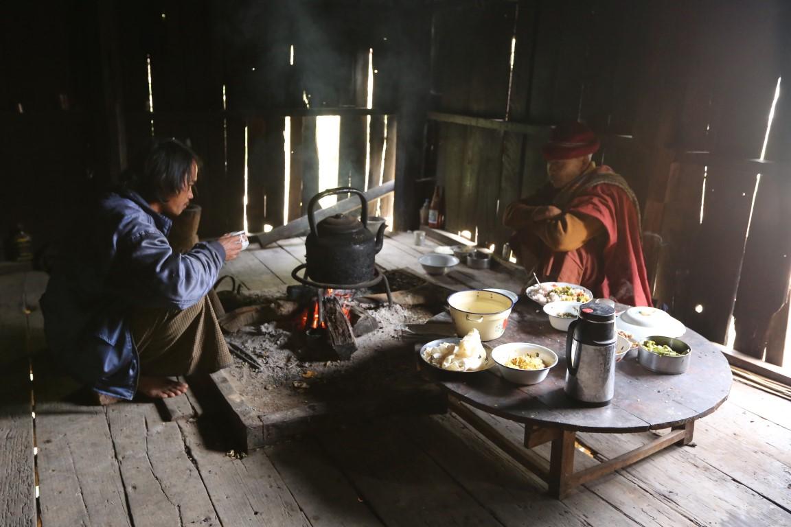 V barmské rodině , kde jsme spali